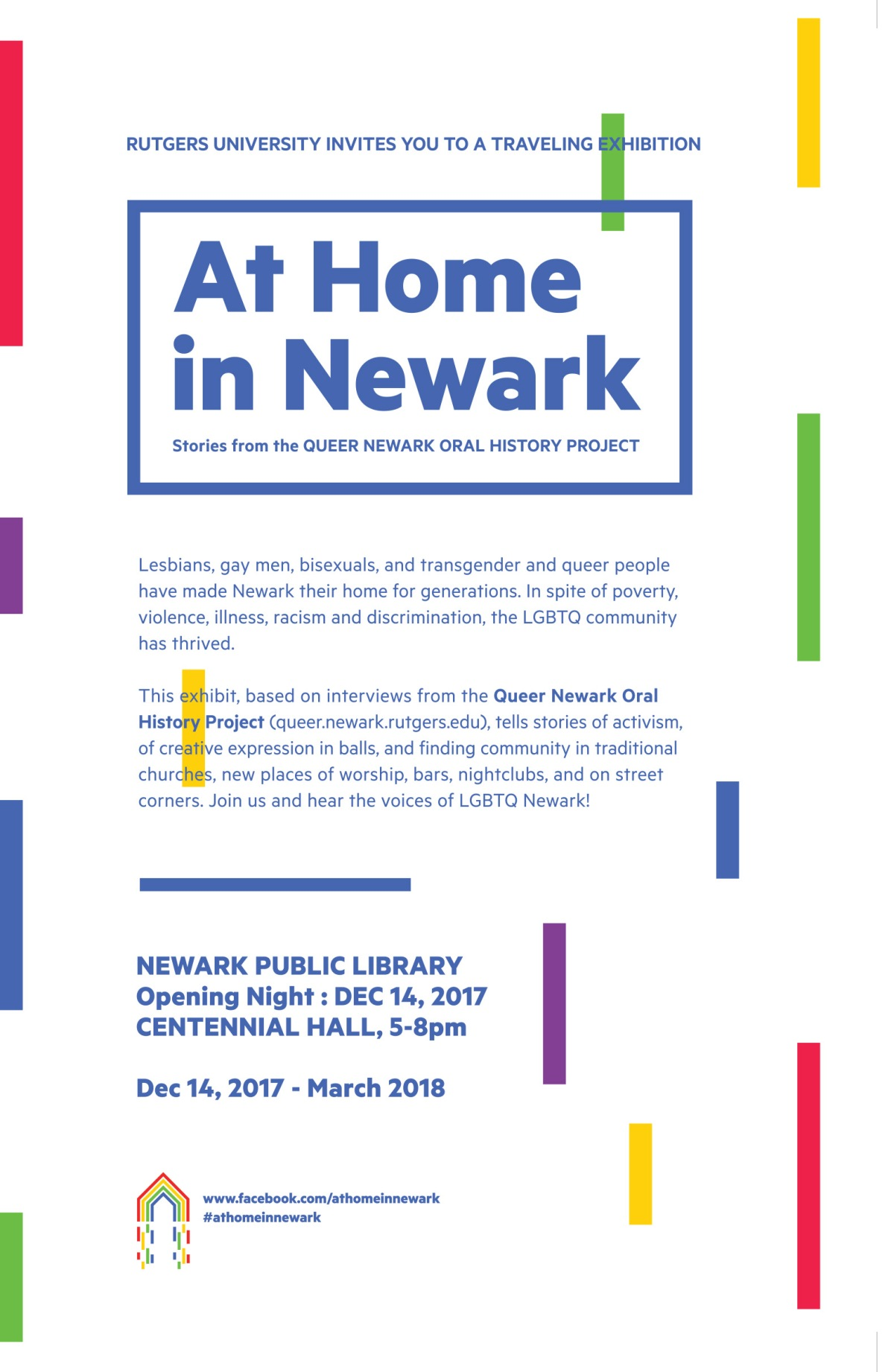 At Home in Newark: Stories from the Queer Newark Oral HistoryProject